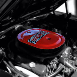 Thomas Woolworth - 440 Six Barrel Air Cleaner Selective Coloring Black and White