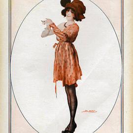 The Advertising Archives - La Vie Parisienne  1918 1910s France Cc