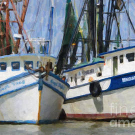 Dale Powell - Shrimp Boats on The Creek