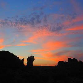 James Welch - Sunset In Monolith Gardens