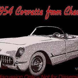 Chas Sinklier - 54 Corvette Three-Quarter Front