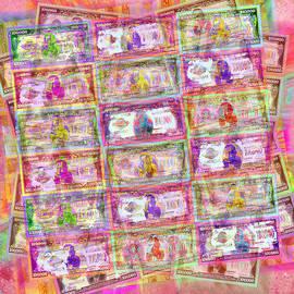Tony Rubino - 540 Million Dollars Red Pastel