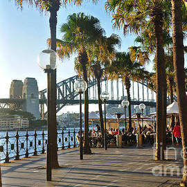 Kaye Menner - 5pm at The Sydney Cove Oyster Bar