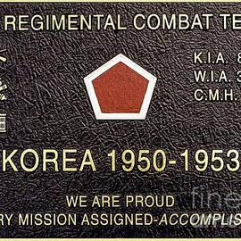 Bob and Nadine Johnston - 5TH Regimental Combat Team Arlington Cemetary Memorial