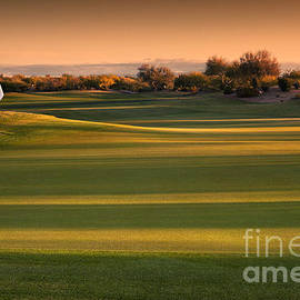 Sheldon Kralstein - Arizona Golf Landscape