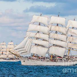 Maslyaev Yury - Dar Mlodziezy Full-rigged ship Poland