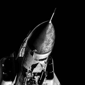 Colin Utz - MiG-23 Flogger In Black And White