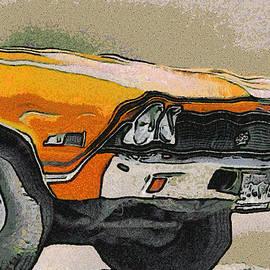 Ernie Echols - 68 Chevelle Abstract