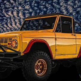 Chas Sinklier - 69 Ford Bronco 4x4 Restoration