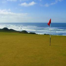 Scott Carda - Bandon Dunes 6th green