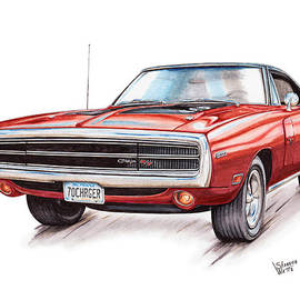 Shannon Watts - 70 Dodge Charger RT