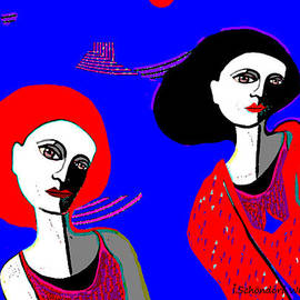 Irmgard Schoendorf Welch - 890  -   Women with red dresses