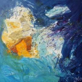 Sonja  Zeltner - Abstract Blue