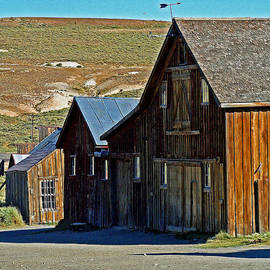 Joseph Coulombe - A Barn at Bodie California