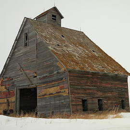 Jeff  Swan - A Barn Near Wild Rose North Dakota