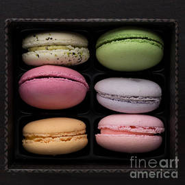Edward Fielding - A box of French Macaron Cookies