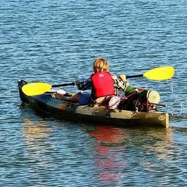 Cynthia Guinn - A Boy And His Canoe