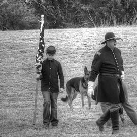 John Straton - A Boy His Dog And The Flag Civil War
