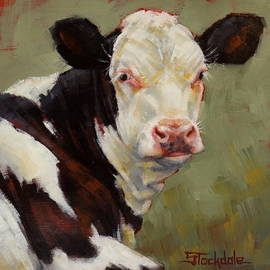 Margaret Stockdale - A Calf Named Ivory