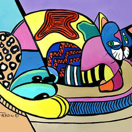 Anthony Falbo - A Cat Named Picasso