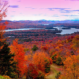 David Patterson - A Chilly Autumn Day on McCauley Mountain