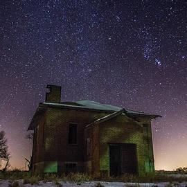 Aaron J Groen - A cold dark place