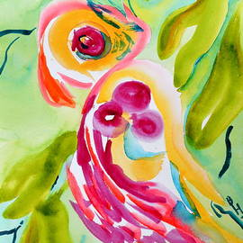 Beverley Harper Tinsley - A Comforting Sweet Bird Watches Over You