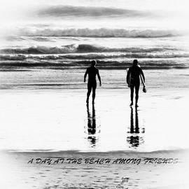 David Millenheft - A Day at the Beach Among Friends