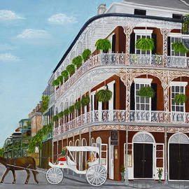 Judy Jones - A Carriage Ride in the French Quarter