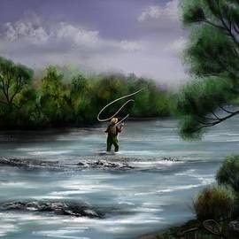 Ron Grafe - A Day on the Stream - Flyfishing