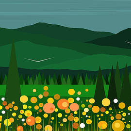 Val Arie - A Field of Flowers