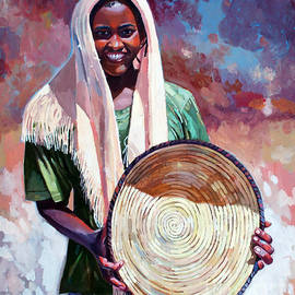 Mohamed Fadul - A girl from the countryside