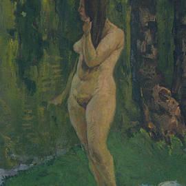 Vasilij Belikov - A girl near river