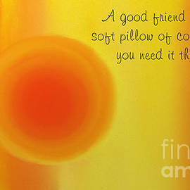 Andee Design - A Good Friend Poem And Abstract 1