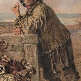 William Henry Hunt - A Hastings Fisherman