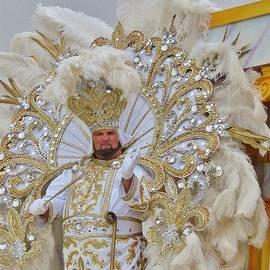 Margaret Bobb - A King of Carnival during Mardi Gras 2013