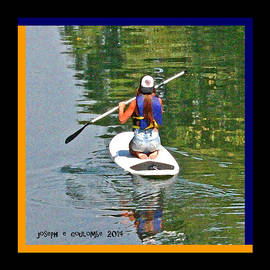 Joseph Coulombe - A Lady On Her Paddle Board