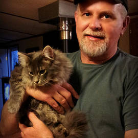 Freda Nichols - A Man and His Cat