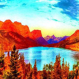 Bob and Nadine Johnston - A Mountain Lake
