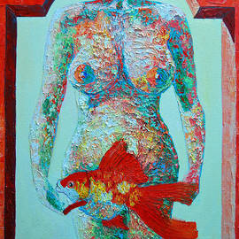Ana Maria Edulescu - A Muse Came To My Window And Told Me To Paint A Fish