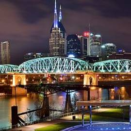 Frozen in Time Fine Art Photography - A Nashville Panoramic Night