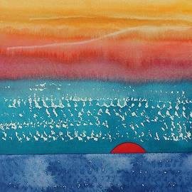 Sol Luckman - A New Day Dawns original painting