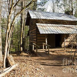 Debra Johnson - A One Room Log Cabin