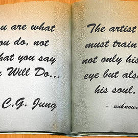 Bob and Nadine Johnston - A Page from Our Journal of Quotations Jung