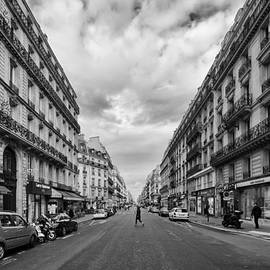 Allan Van Gasbeck - A Paris Avenue