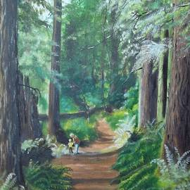 Terry Godinez - A Peaceful Walk in the Redwoods