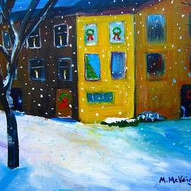 Marita McVeigh - A Philly Snowfall
