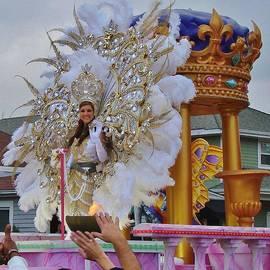 Margaret Bobb - A Queen of Carnival during Mardi Gras 2013