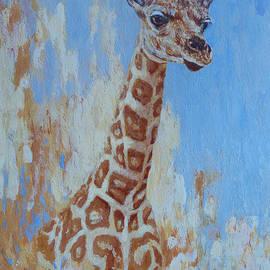 Margaret Saheed - A Rare Giraffe