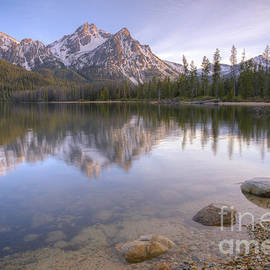 Idaho Scenic Images Linda Lantzy - A Sawtooth Evening